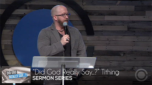 """Did God Really Say...?"": Tithing"